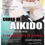 Sensei Vicente Borondo 5º Dan Aikikai