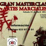 Master Class Artes Marciales