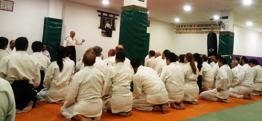 Seminarios y Cursos de Aikido nacionales e internacionales..