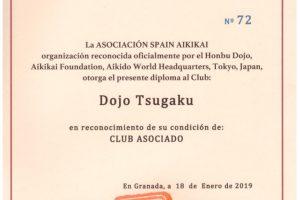 Dojo Tsugaku en Spain Aikikai & Curso Fukushidoin/Shidoin