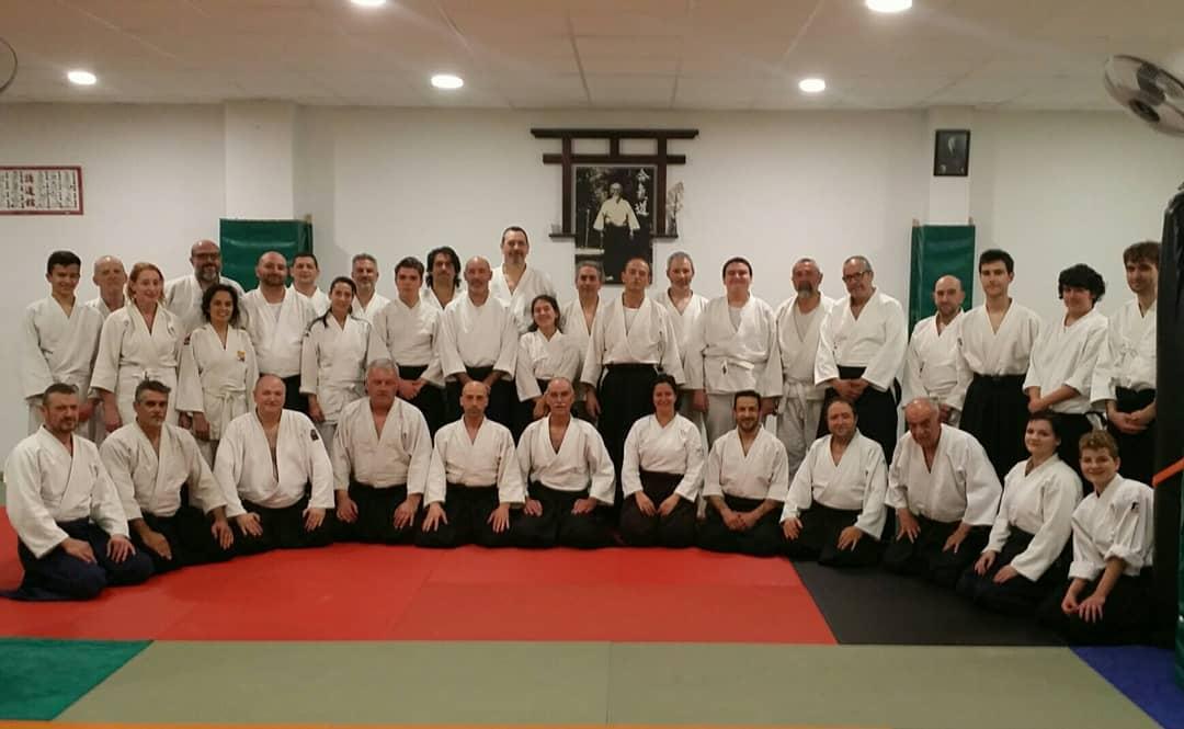 1º Curso Técnico de Aikido por la Federacion Balear de Judo y DDAA.