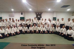 Clase conjunta de Aikido – Fin de año 2019
