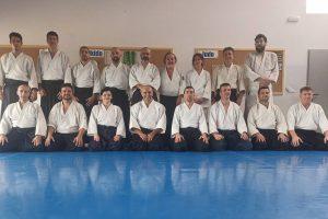 Seminario Jorge Guillen 6º Dan Aikikai en Mejorada del Campo
