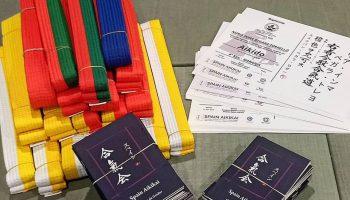 Exámenes Aikido infantil y juvenil
