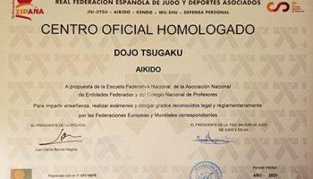 Club Homologado Aikido – 2021